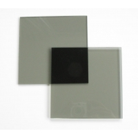 Polarisatie filter set 150x150 mm. circulair Glas