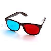98fb166993b2d8 Rood cyaan kunststof 3D bril vouwbaar (meer dan 8)