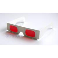 Red-red decoder cardboard spectacle